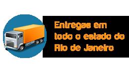 Entregamos em todo o estado do Rio de Janeiro