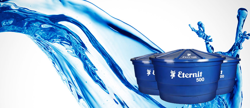 Caixas d'água de Polietileno da Eternit